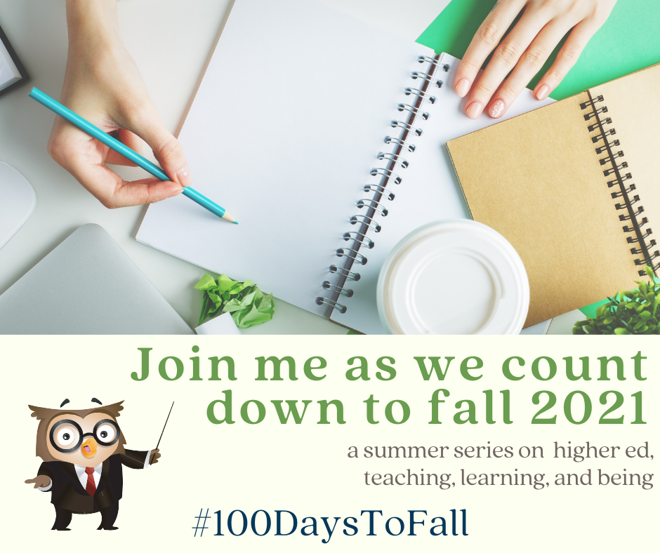 Counting down to fall 2021